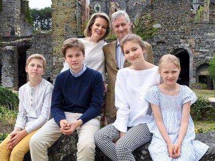 Elisabeth de Bélgica, una guapa adolescente protagonista de las vacaciones en familia