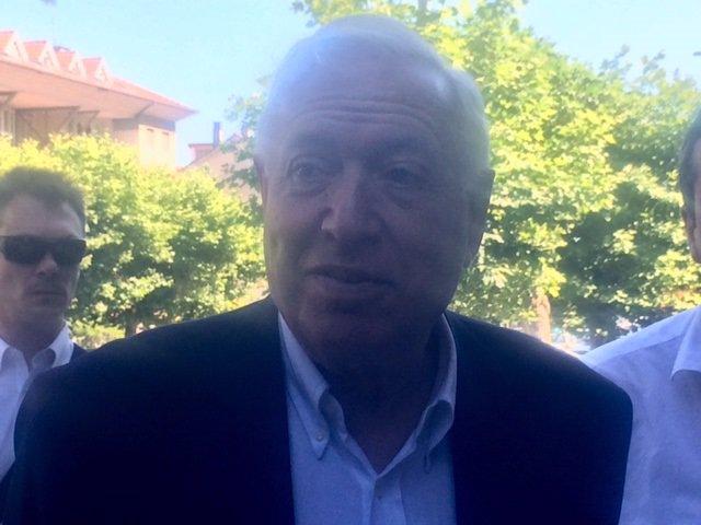 José Manuel García-Margallo en Santander