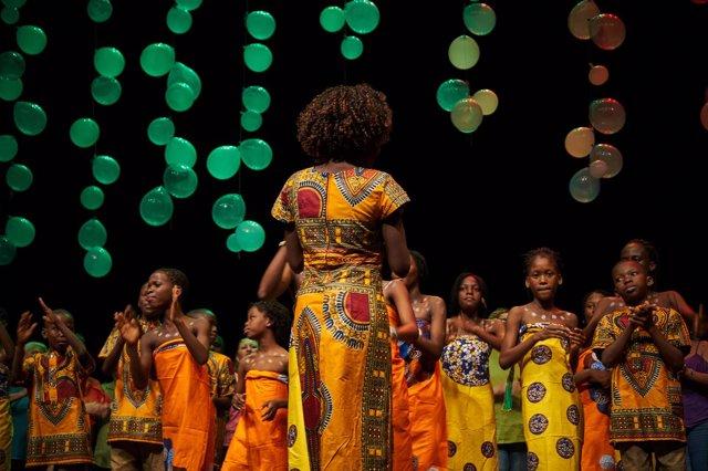 Coro Voces por Benín de gira por España
