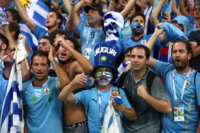 Soccer Football - World Cup - Round of 16 - Uruguay vs Portugal - Fisht Stadium,