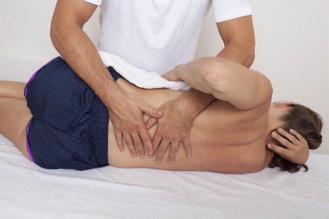 Medicina deportiva, fisioterapia