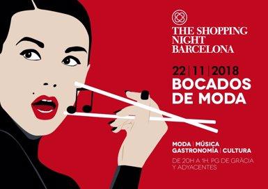 La Shopping Night Barcelona 2018 se celebrarà el 22 de novembre i obrirà la campanya de Nadal (SHOPPING NIGHT BARCELONA)