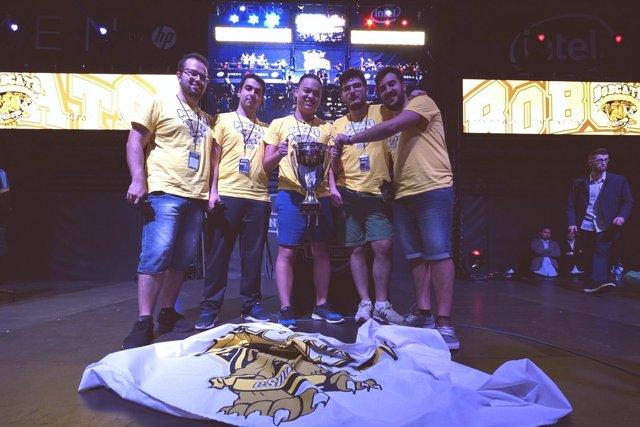 El equipo Bobcats, de la Universidad de La Laguna