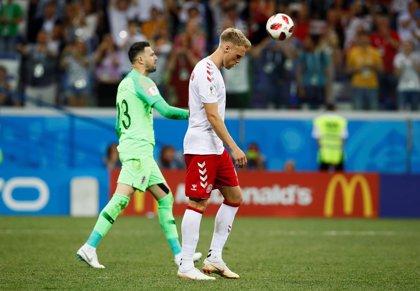 La Federación danesa denuncia amenazas de muerte contra Jorgensen, que falló un penalti ante Croacia