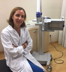 María Calvo Pulido, directora del Servicio de Dermatología de Ruber Juan Bravo