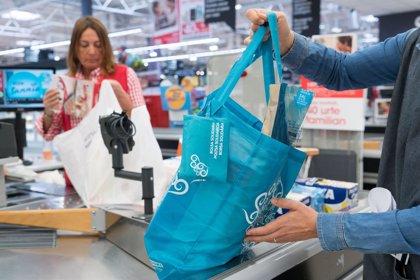 """Eroski incorporará nuevas """"soluciones sostenibles"""" como alternativa a las bolsas de plástico de un solo uso"""