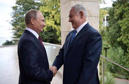 Putin recibirá el 11 de julio a Netanyahu en Moscú