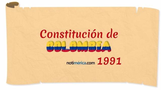27 Años De La Constitución De Colombia