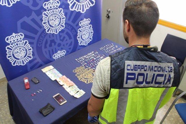 Policía nacional efectos