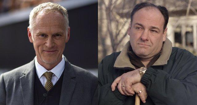 Alan Taylor / James Gandolfini en Los Soprano