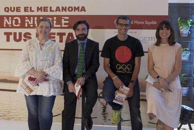 Campaña 'Que el Melanoma no nuble tus metas' de Bristol-Myers Squibb