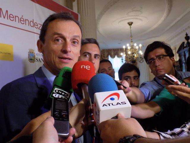 El Ministro Pedro Duque En La UIMP