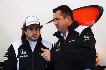 Eric Boullier dimite como responsable del equipo McLaren y el brasileño Gil de Ferran se convierte en director deportivo