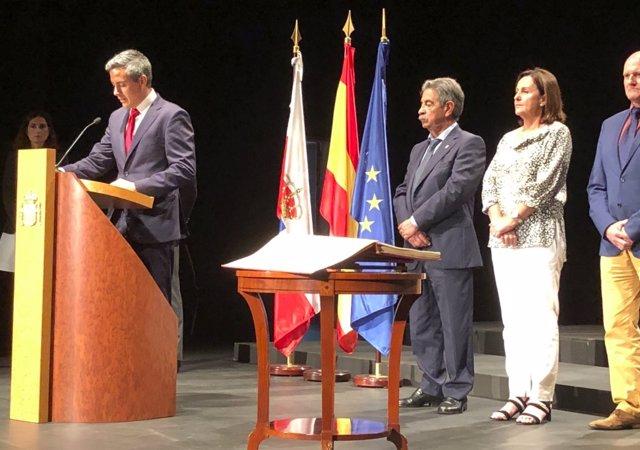 Toma de posesión de Pablo Zuloaga como delegado del Gobierno