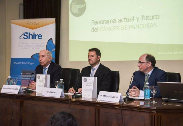 Presentación curso 'Panorama actual y futuro del cáncer de páncreas', de Shire