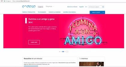 """Endesa, multada con 30.000 euros por """"incumplir"""" en la web requisitos de accesibilidad para personas con discapacidad"""
