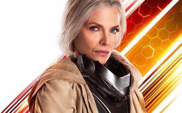 Michelle Pfeiffer en Ant-Man y la Avispa