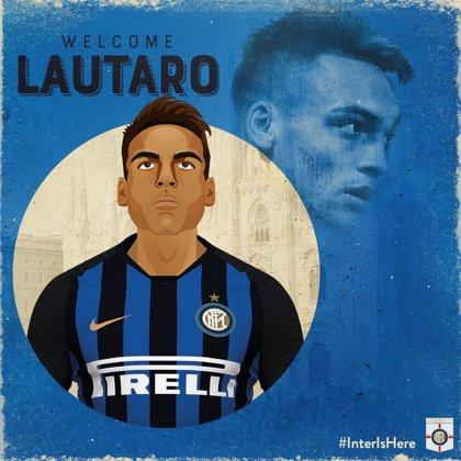 El Inter contrata al delantero argentino Lautaro Martínez