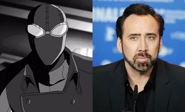 Nicolas Cage pondrá voz a Spider-Man Noir
