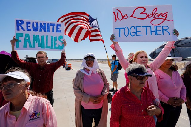 Niños hondureños separados de sus familias en Estados Unidos