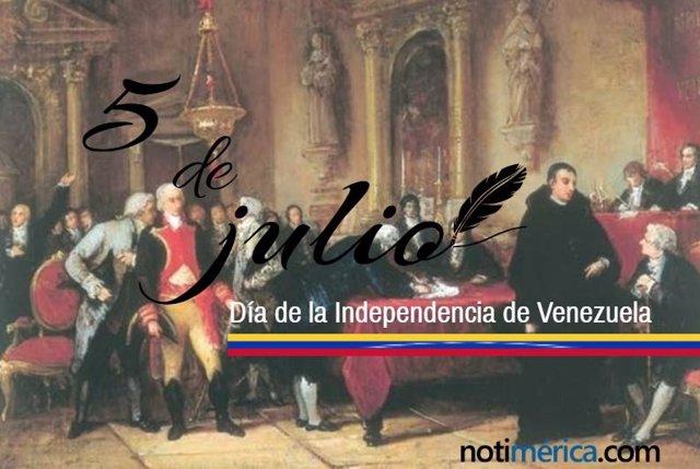 Día de la Independencia de Venezuela