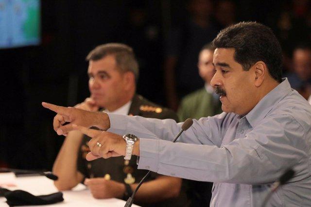 El presidente de Venezuela, Nicolás Maduro