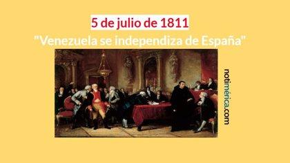 Los 10 datos curiosos sobre la independencia de Venezuela que debes conocer