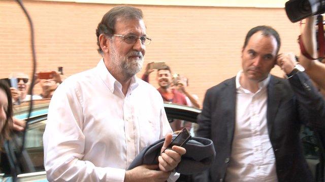 Rajoy se reincorpora a su plaza de registrador de la propiedad