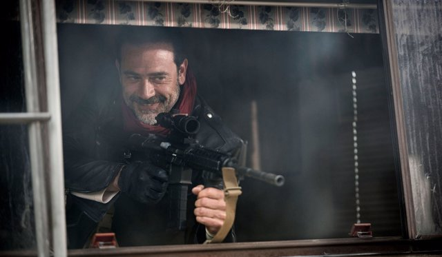 Jeffrey Dean Morgan en The Walking Dead