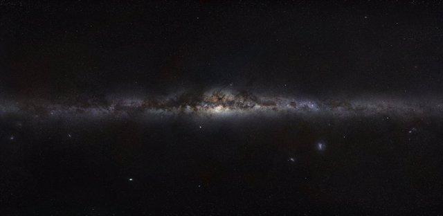 Vía Láctea vista desde la Tierra