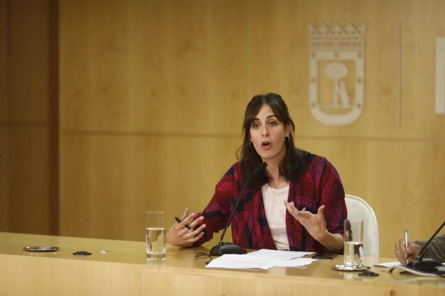 Rueda de prensa de la portavoz del Ayuntamiento de Madrid, Rita Maestre