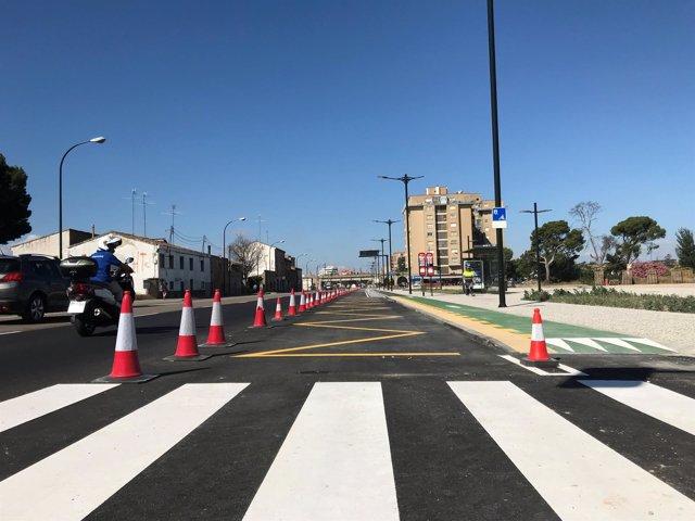 Reforma del primer tramo de la avenida Cataluña