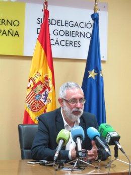 José Antonio García Muñoz, subdelegado del Gobierno en Cáceres