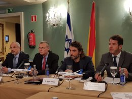 Presentación de nueva ruta a Israel