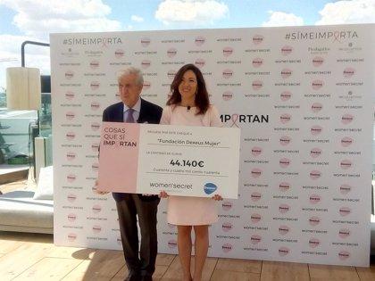 Women'secret dona 40.000 euros a Dexeus Mujer para preservar la fertilidad de jóvenes con cáncer de mama