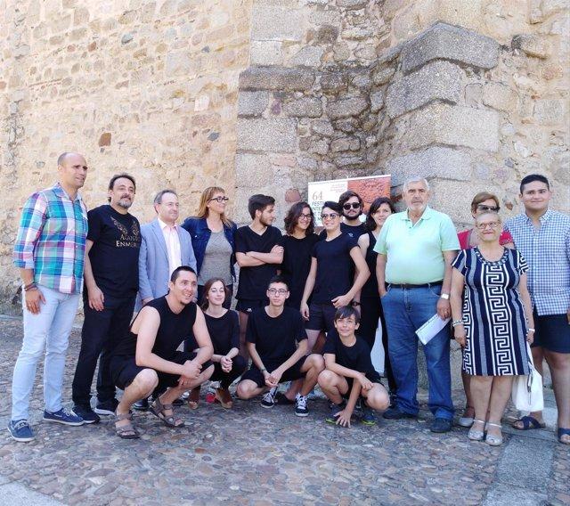 Presentación Festival obras teatrales en barrios
