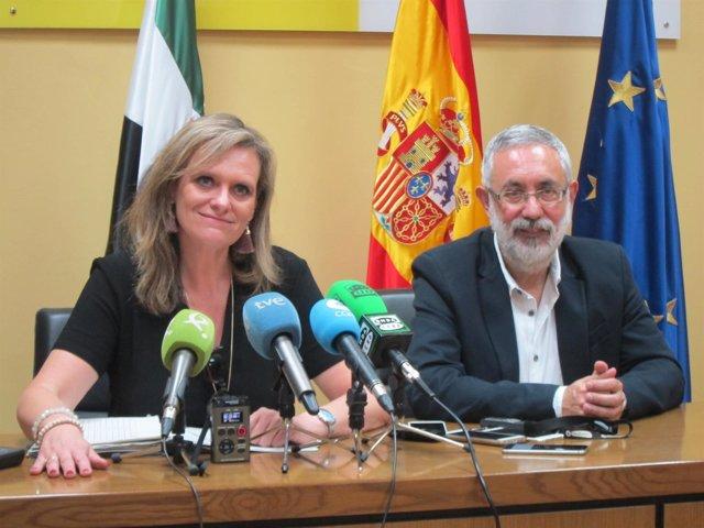 Yolanda García Seco y José Antonio García Muñoz