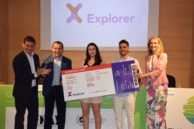 Ruiz Espejo empresa Yumego silicon explorer premio málaga starup
