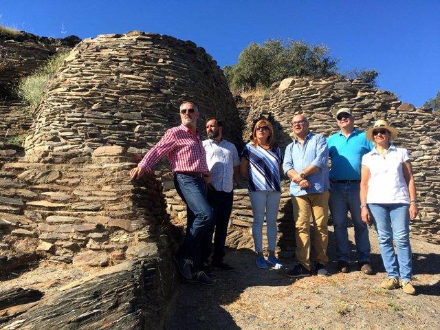 Visita al yacimiento arqueológico de Peñalosa