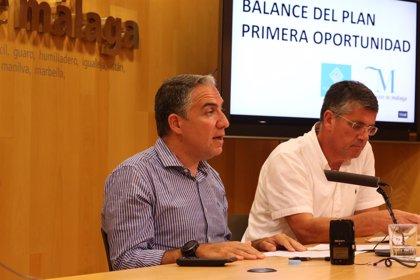 Diputación de Málaga consolida su apoyo al fomento del empleo juvenil con otra convocatoria del plan Primera Oportunidad