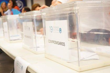 La participación roza el 45% en la Comunitat en la primera parte de la jornada de primarias del PP