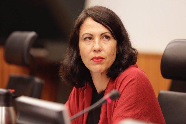 Eva García Sempere, diputada de IU
