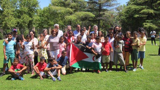 El Gobierno de Aragón da la bienvenida a los niños saharauis