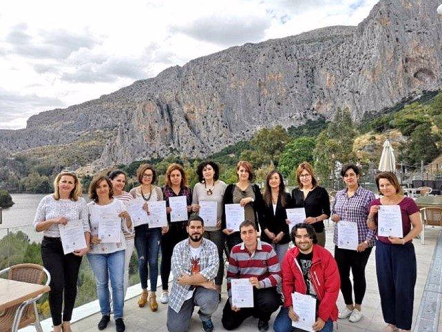 Profesionales participantes en el plan japón de turismo costa del sol málaga