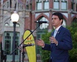 El president de la Diputació de Barcelona, Marc Castells