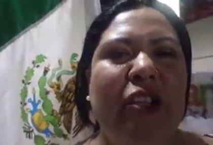 """Apodan """"Lady Champagne"""" a la senadora electa de Morena por su polémico vídeo y piden su expulsión del partido"""