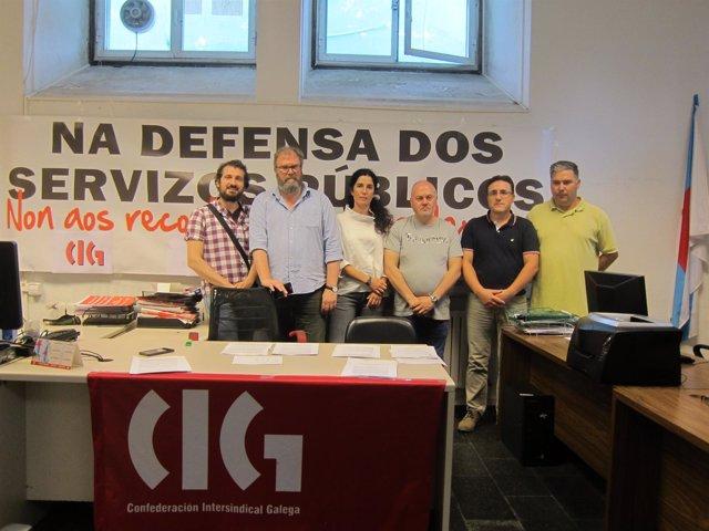 Representantes De La CIG-Autonómica