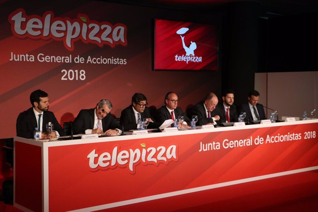 Junta general de accionistas de Telepizza