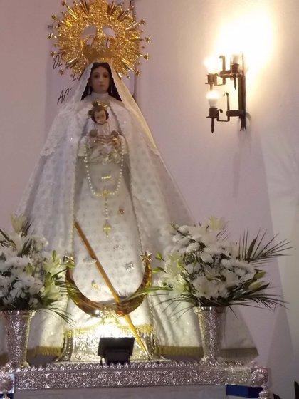 Investigan el robo de las joyas de la Virgen del Rosario en la parroquia de Villamayor de Calatrava