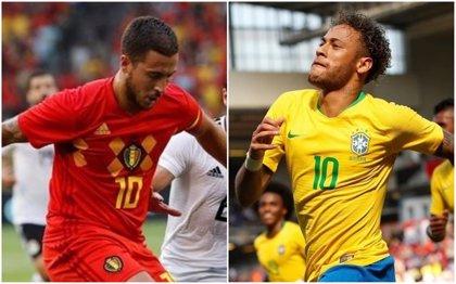 Brasil expone su candidatura ante el mejor ataque del Mundial